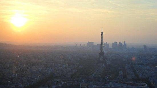 Observatoire Panoramique de la Tour Montparnasse: a jovem senhora majestosa