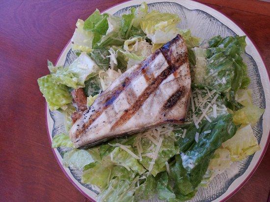 Chart Room: Swordfish with Caesar Salad