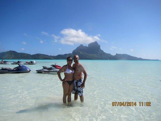 Le Meridien Bora Bora : Jet Skiing