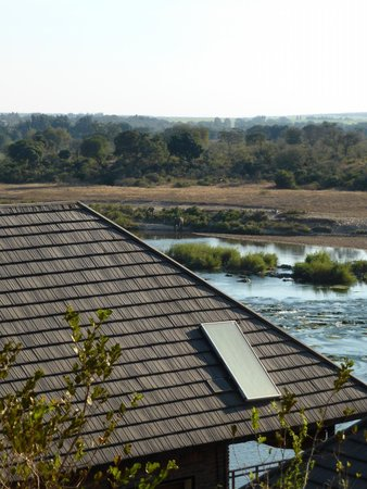 Ngwenya Lodge : View from balcony