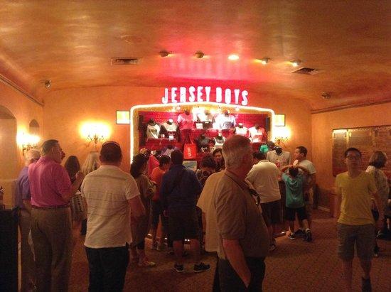 Jersey Boys: Teatro