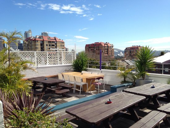 Sydney Central Backpackers: Rooftop
