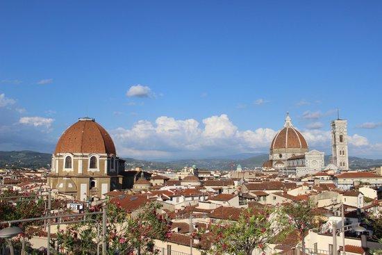 Grand Hotel Baglioni Firenze: Terrace View