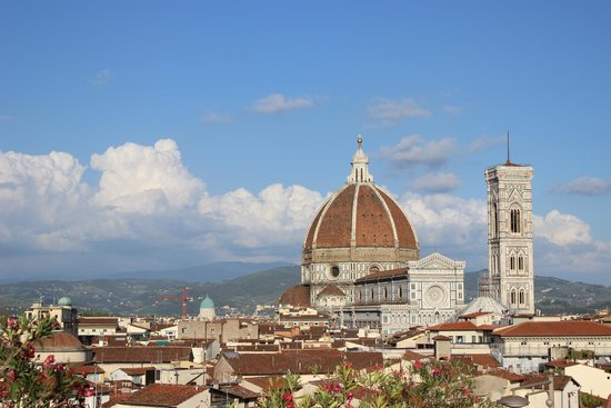 Grand Hotel Baglioni Firenze : Terrace View