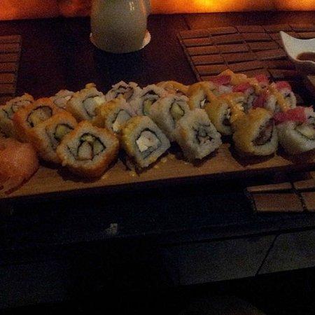 Valentin Imperial Maya: Sushi at Ginger
