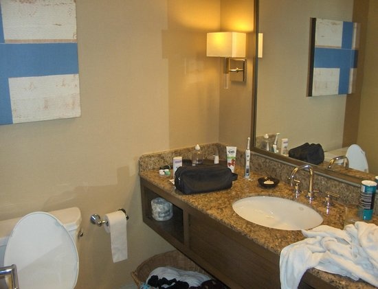 Hyatt Regency Greenwich: Bathroom was fine. Great condition.