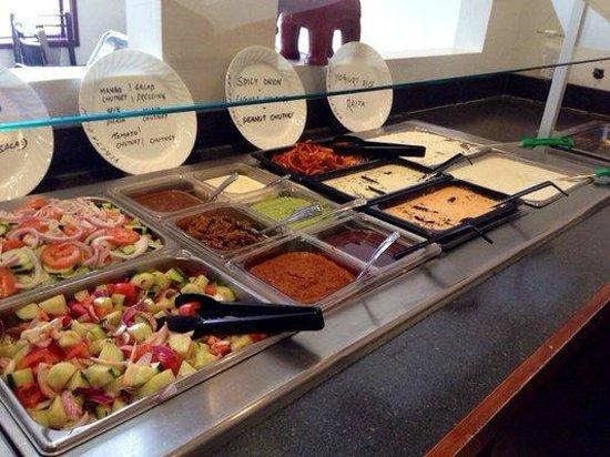 Oh! India Eat Street: Salads & Chutneys