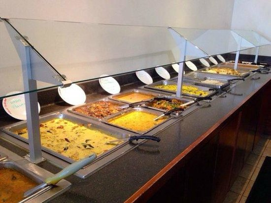 Oh! India Eat Street : Buffet Spread