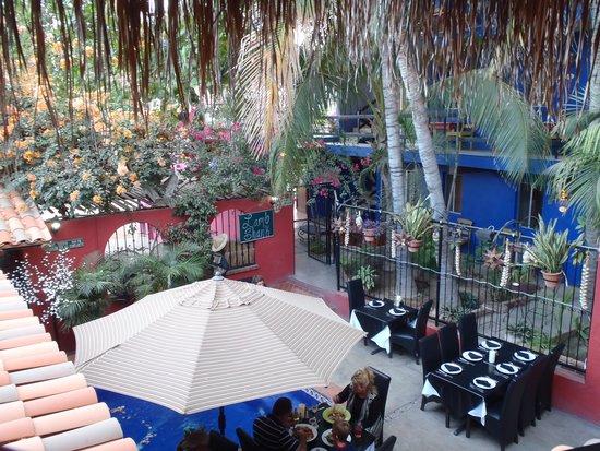 Salvatore's Italian Restaurant: view from upper deck