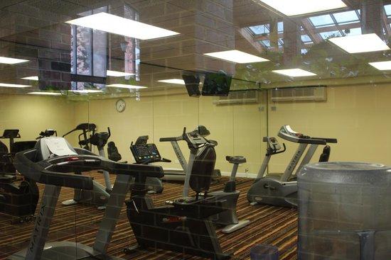Holiday Inn Countryside : Both treadmills broke! (Not pictured - 1 broken hot tub)
