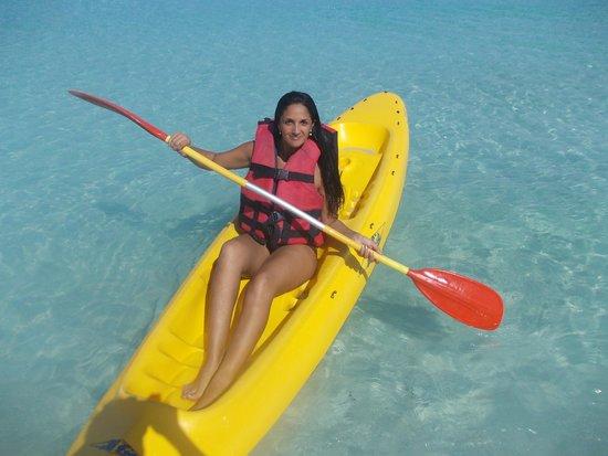 Sol Sirenas Coral Resort: Kayak prestados por el hotel