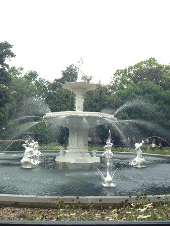 Parc Forsyth : Forsyth Park fountain