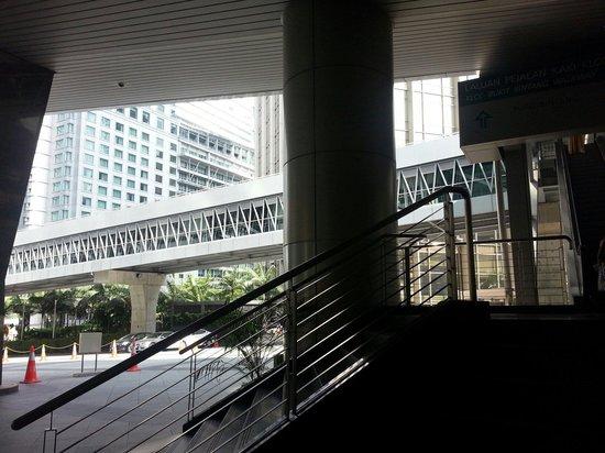 KLCC - Bukit Bintang Pedestrian Walkway : Some of the walkway