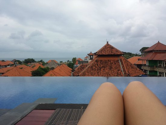 Swiss-Belinn Legian : View from the pool