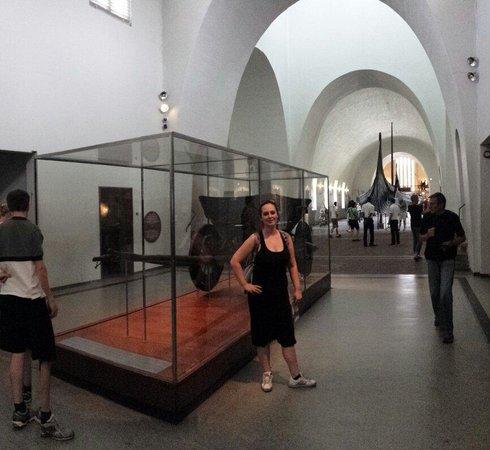 Viking Ship Museum : Um carro viking