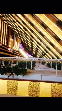 Pan Pacific Singapore: Vu des étages supérieures