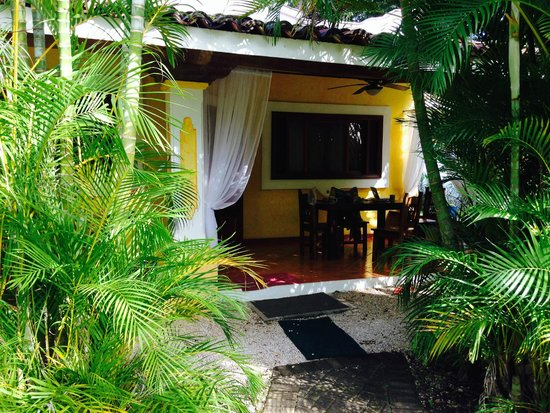Villas Kalimba: The exterior of Villa # with outdoor seating