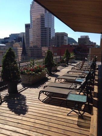 Le Square Phillips Hotel & Suites : Fabelhafte Dachterrasse