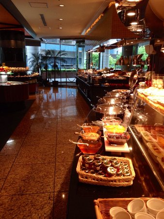 Ana Intercontinental Tokyo : Buffet petit déjeuner