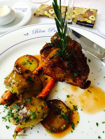 Bleu Provence: Grilled lamb Porter-House