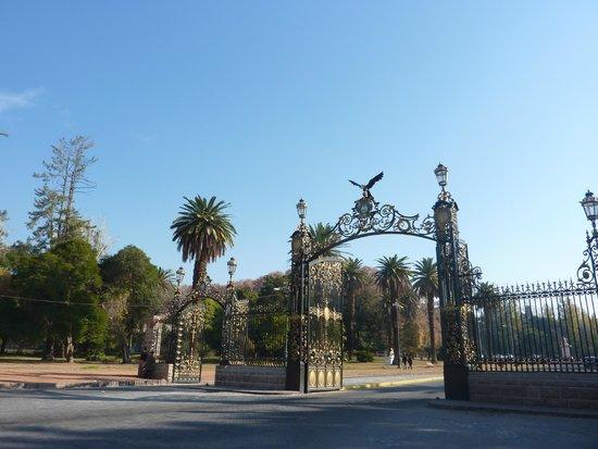 Parque General San Martin : Entrada do parque