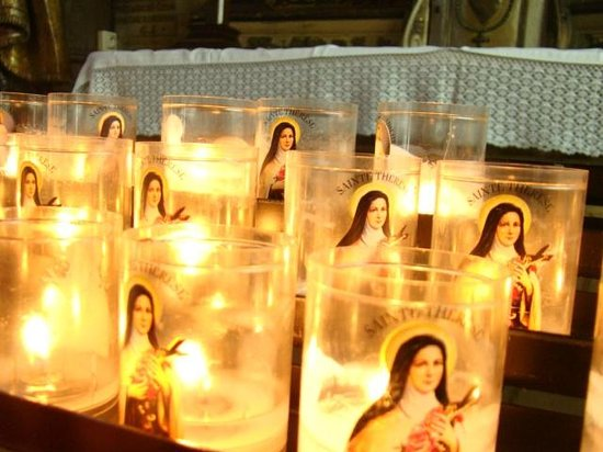 Église Sainte-Catherine : velas