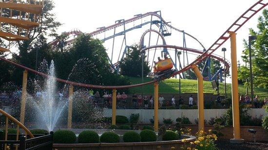 Worlds Of Fun Oceans of Fun: spin coaster - Worlds of Fun - KC MO