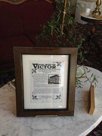 The Victor Hotel: Recepção