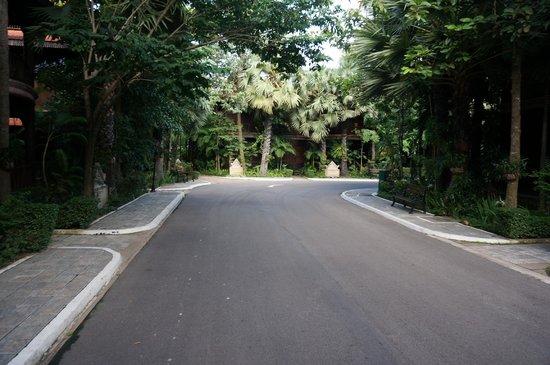 Sokhalay Angkor Villa Resort: outside of the villas