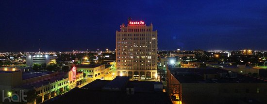 Courtyard Amarillo Downtown: Panoramic view of the southside from our room on the 9th floor