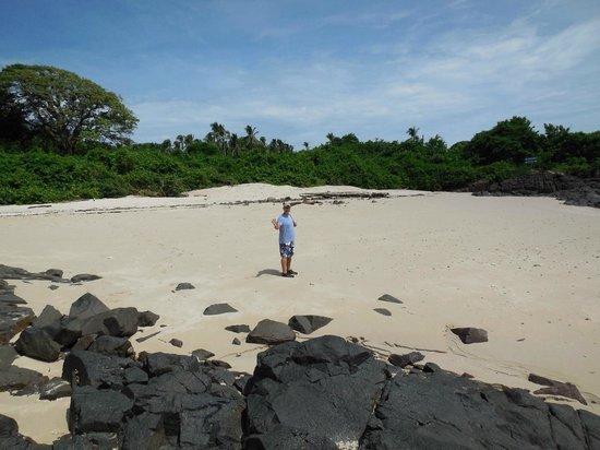 Casa Lajagua : Beach at Isla Iguana