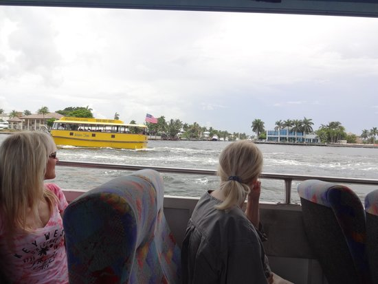 Duck Tours Fort Lauderdale: Water Taxi on Intracoastal has nothing on our Duck Boat!