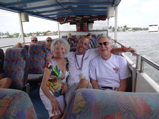 Duck Tours Fort Lauderdale: Howie -- Best tour guide EVER!!!