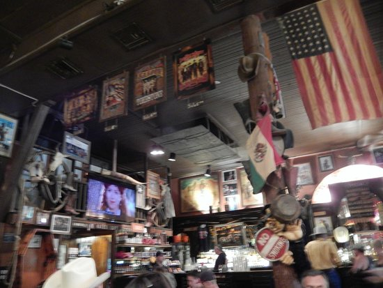 Big Nose Kates Saloon: A lot of stuff on the walls...