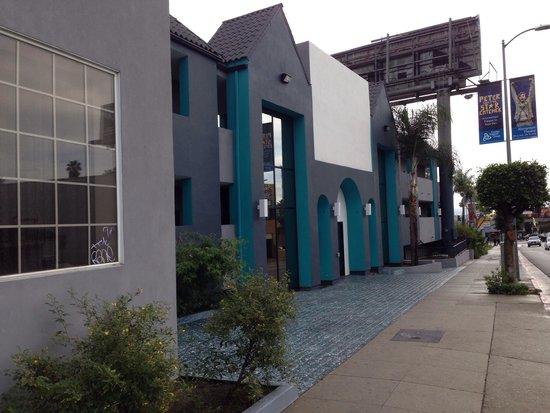 Quality Inn Hollywood: Entrada del hotel