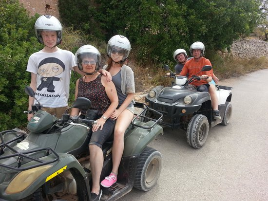 Quad Ventura: Our 4th trip with Rory and Claire