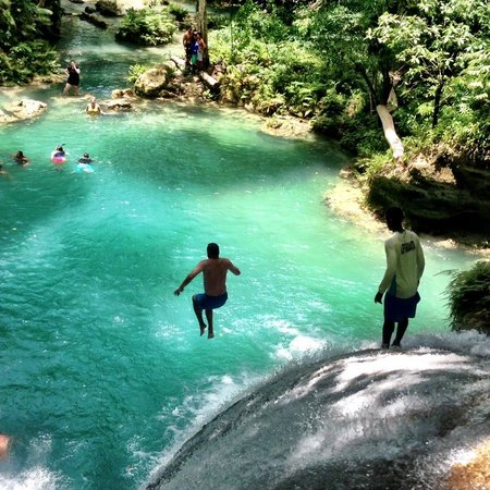 Cliff Jumping At The Secret Falls Jamaica Picture Of Liberty - Liberty tours jamaica