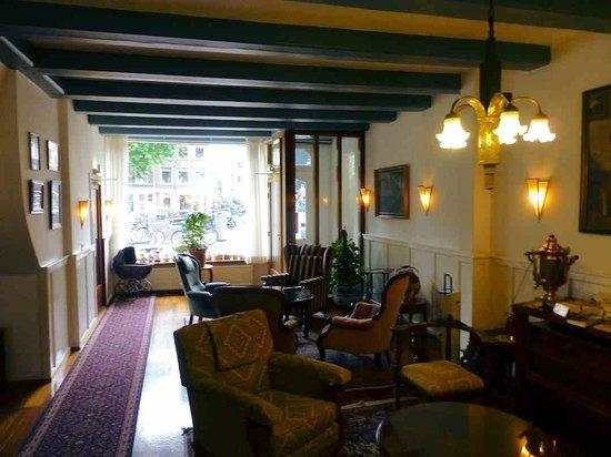 Amsterdam Wiechmann Hotel: Sitting room