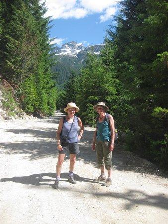 Sea to Sky Gondola : Logging road described as trail