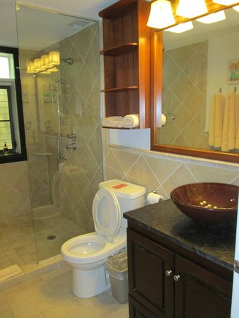 Gallows Point Resort : Downstairs bathroom