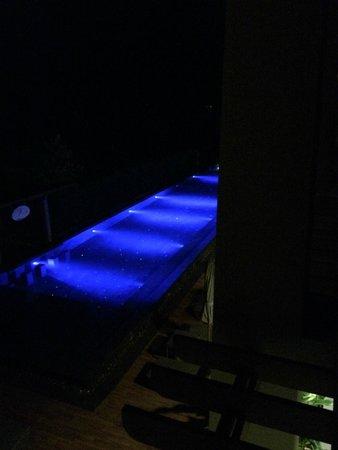 Avista Hideaway Phuket Patong, MGallery by Sofitel: One of the pools at night