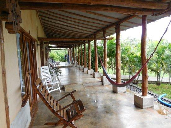 Casa Lajagua : Sitting area outside rooms