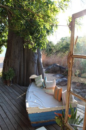 Kaya Mawa: Deck of our room