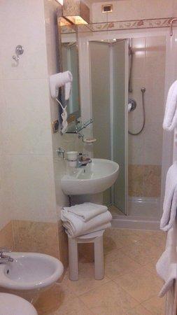 Hotel Alba Palace : salle de bains