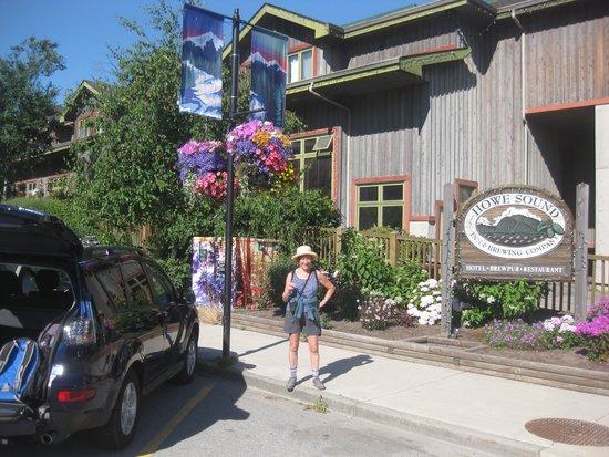 The Howe Sound Inn & Brewing Co.: Howe Sound Brew Pub entrance