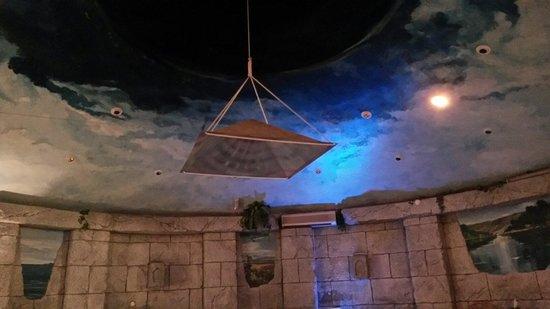 Al Nahda Resort & Spa : Meditation Pyramid