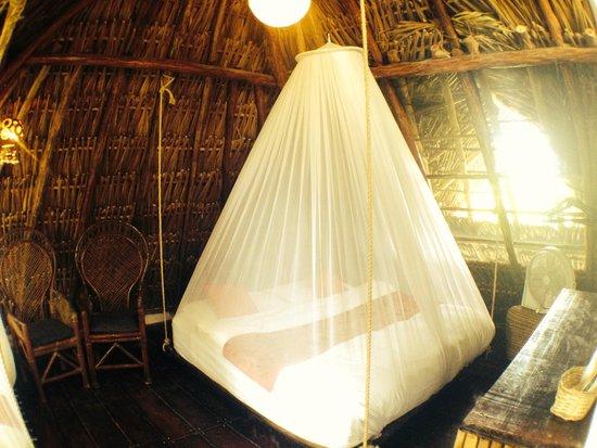 Yoga Shala Tulum: mezzanine triple room