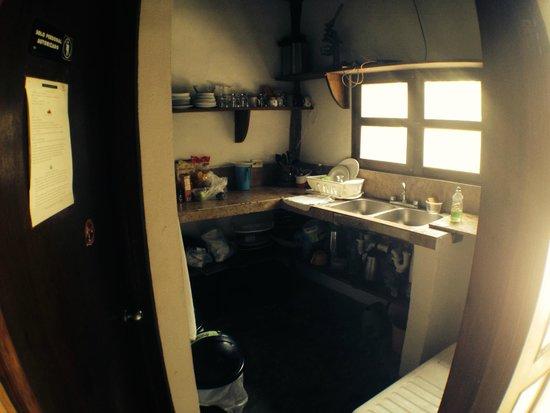 Yoga Shala Tulum: our little kitchen