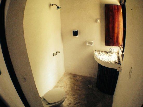 Yoga Shala Tulum : standard double room private bathroom