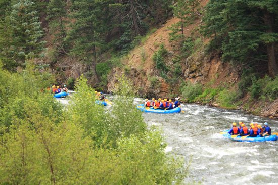 Clear Creek Rafting Company: what beginner is like
